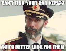 Car Keys Meme - captain obvious imgflip
