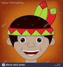 indian happy thanksgiving card in vector format stock vector