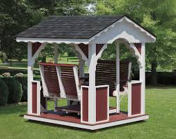Gazebo Porch Swing by Face To Face Swing Porch Patio Swings Wood Porch Swings