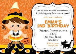 halloween themed birthday party invitations vertabox com