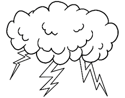interesting rain cloud drawing cartoon vector art illustration
