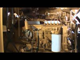 caterpillar 3306 230kw 480v open diesel generator set youtube