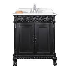 shop ove decors trent antique black undermount single sink
