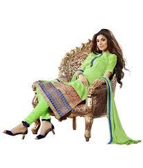 pista colour touch trends pista green colour chanderi cotton silk dress