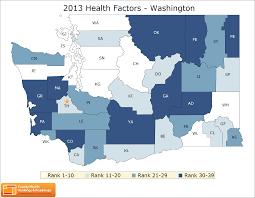 Wa State County Map by Washington Rankings Data County Health Rankings U0026 Roadmaps