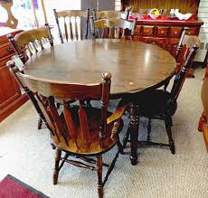 dining room table six chairs dining table six chairs 2 leaves dorn s used furniture