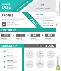 Sample Format Of Resume For Job Application by Green Smart Creative Resume Business Profile Cv Vitae Template