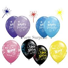 birthday balloons for men happy birthday balloons 11 purple lilac black blue