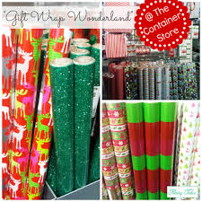 container store christmas wrapping paper decorate with wrapping paper flairy tales