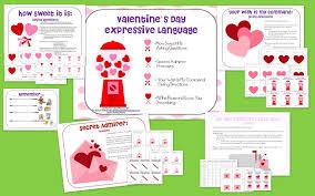 speech bubble activity valentine u0027s day expressive language the speech bubble