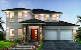 Custom Home Designs by New Home Builders Evoque 40 Double Storey Home Designs