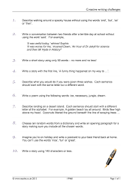 ks3 imaginative writing teachit english