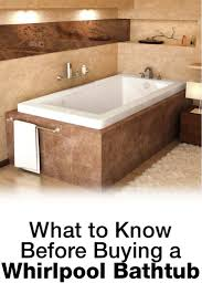 How To Clean A Jet Bathtub What To Know Before Buying A Whirlpool Bathtub Overstock Com