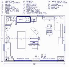 Garage Floor Plan Designer Best 25 Woodworking Shop Layout Ideas On Pinterest Workshop