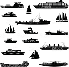ships and boats set black and white stock vector art 523016947