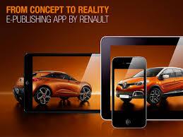 renault captur concept renault captur e publishing app on behance