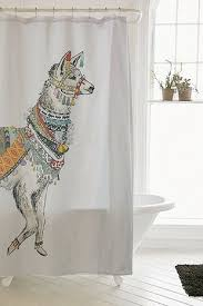 Urbanoutfitters Curtains Alpaca Bathroom Inspiration From Urban Outfitters Click For More