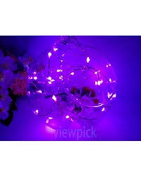 halloween purple led string lights great deals on viewpick 7ft 20 leds purple led fairy lights copper