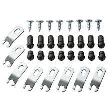 amazon com glass retainer clips zinc home improvement