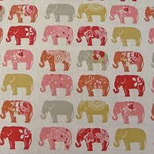 Elephant Curtains Uk Red Curtains U0026 Fabrics