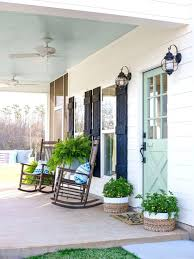 green front porch light green light front porch photo 6 of 7 fixer upper inspired farmhouse