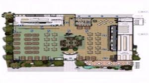 resturant floor plan restaurant layout floor plan sles youtube