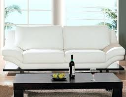 White Leather Sectional Sofa With Chaise Charming Small White Leather Sofa Design U2013 Gradfly Co