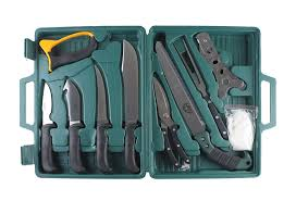 edge complete portable hunting game processing set