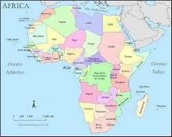 mapa de africa cuáles los países continente africano respuestas tips