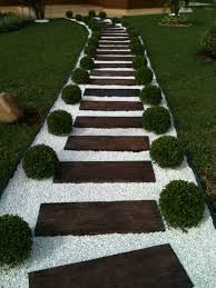 affordable garden paths u0026 beautiful landscaping ideas with white