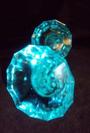 Glass Wardrobe Door Knobs by Turquoise Door Knobs Affordable Chic