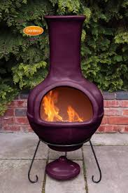 Metal Chiminea Lowes by Exterior Cast Iron Chiminea For Exciting Outdoor Barbecue Design
