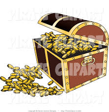 royalty free stock pirate designs of treasure chests
