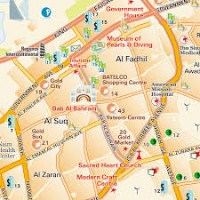 map of bahrain official map al manama kingdom of bahrain maps and directions at