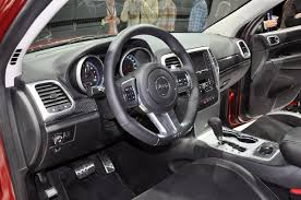 Jeep Grand Cherokee Srt Interior 2012 Jeep Grand Cherokee Srt8 Arrives As Quickest Jeep Ever Made