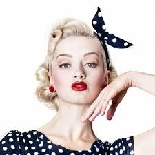 retro hair accessories pin up polka dot bandana polka scarves 40s 50s vintage ins