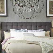 bed queen fabric headboard gray upholstered headboard king woven