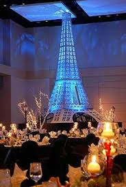 Paris Themed Party Supplies Decorations - can rent this 5 ft tall tower at http www displaygroup com event