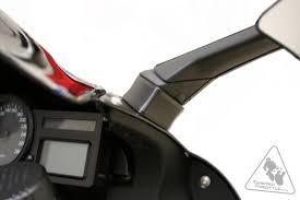 sw motech left u0026 right side mirror extenders for bmw k1200s u002705