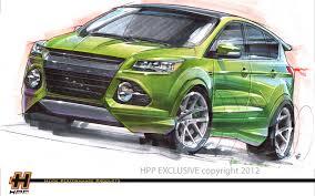 Ford Escape Custom - escape to sema two customized 2013 ford escapes to debut at sema show