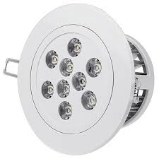 Recessed Ceiling Light Fixtures Led Recessed Light Fixture Aimable And Dimmable 60 Watt