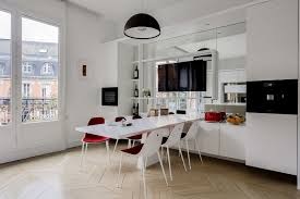 cuisine design de luxe cuisine design de luxe ouverte dans un appartement haussmannien à