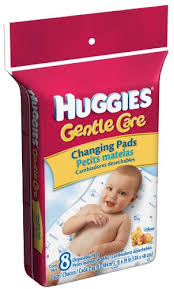 Disposable Changing Table Liners Huggies Disposable Changing Pads 8 Count Packages
