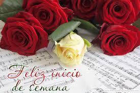 Imagenes De Feliz Inicio De Semana Con Rosas | feliz inicio de semana rosas rojas y blancas mensaje de feliz lunes