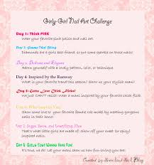 The Challenge How To Do It The Do It Yourself Girly Nail Challenge