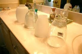 glass shades for vanity lights glass l shades for floor ls bathroom vanity light globes