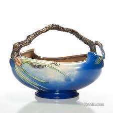 Roseville Pinecone Vase Antique Roseville Pottery U0026 Porcelain Price Guide Antiques