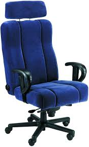 Blue Leather Executive Office Chair Leather Office Chair Boss Italian Leather Executive Chair