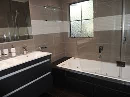 simple bathroom with shower over bath on small home remodel ideas