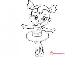 Baby Nosy Virina Ballerina Coloring Page Rainbow Playhouse Ballerina Printable Coloring Pages